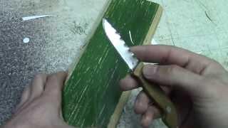 Как сделать нож своими руками в домашних условиях за 0.1$.