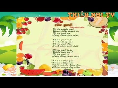 Bài thơ Ăn Quả – Bai tho an qua – Thiếu nhi vui nhộn
