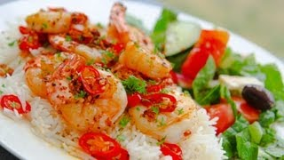 Chili Shrimp / Chilli Prawns - Recipe Video