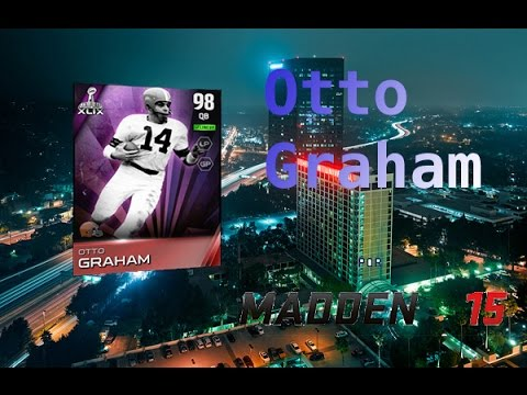Madden 15 Ultimate Team I Otto Graham Joins the Squad!