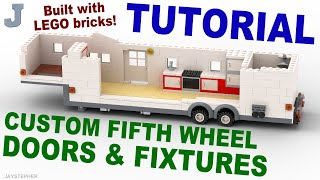 Tutorial - LEGO Fifth Wheel Doors And Fixtures (6 - 12)
