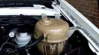 OH NO!! Engine oil/coolant milkshake mix