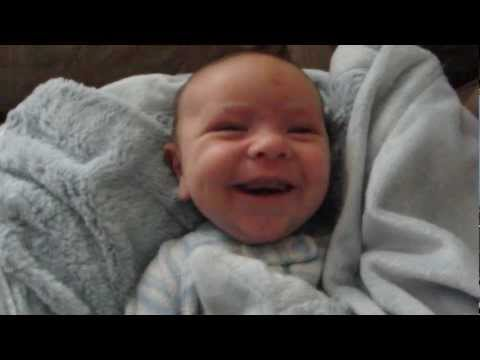 Baby Oliver wakes up with every emotion