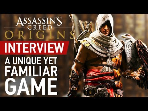 """Assassin's Creed Origins Isn't """"Reinventing"""" Concepts, But Should Feel """"Unique"""" - Interview"""