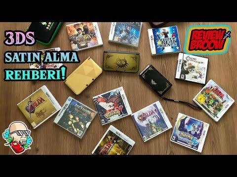 NINTENDO 3DS SATIN ALMA REHBERİ (oyunlar-aksesuarlar-dikkat etmeniz gerekenler)