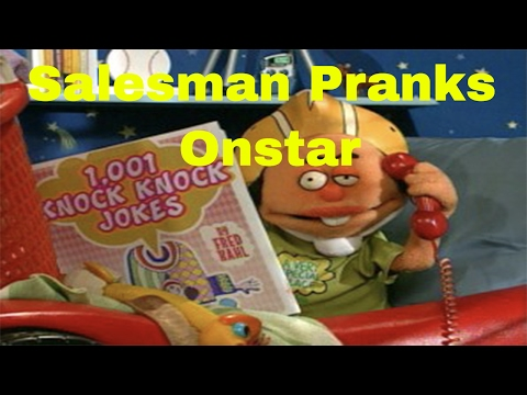 OnStar Prank welcome call