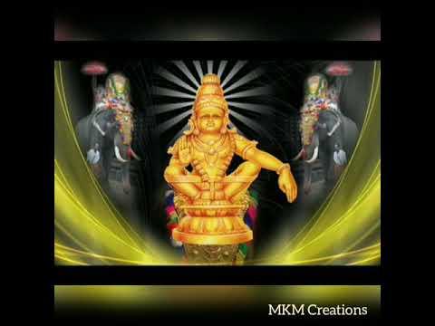 WhatsApp Status video  Ayyappan song   MKM Creations