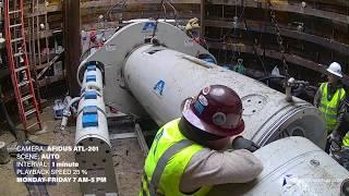 Afidus ATL-201 Akkerman Micro Boring Machine Tunnel Progress