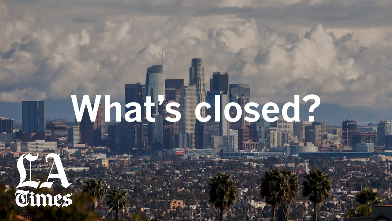 Los Angeles County Announces Near-Lockdown, All Residents ...