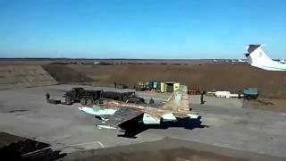 Тренировочный полет Су 25 Грач над аэродромом Мелитополь(, 2015-07-11T19:39:56.000Z)