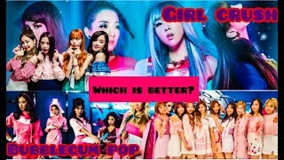 TO MANY KPOP CONCEPTS! KPOP WAR: Girl Crush vs Bubblegum Pop | KPOP Girl Groups 2018 KpopHabbits