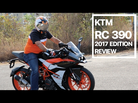 KTM RC 390 2017 Edition Review, Test Drive, Exhaust Note and Ride By Wire