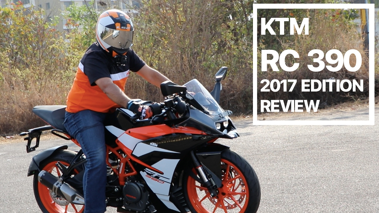 ktm rc 390 2017 edition review, test drive, exhaust note and ride