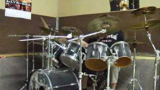 Deicide-Homage for Satan drums played by me