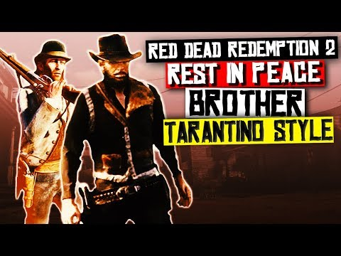 Red Dead Redemption 2 - Avenging A Fallen Outlaw TARANTINO STYLE Western thumbnail