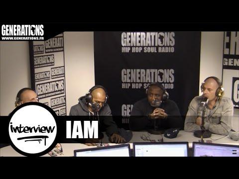 1 Heure avec IAM - Interview (Live des studios de Generations)