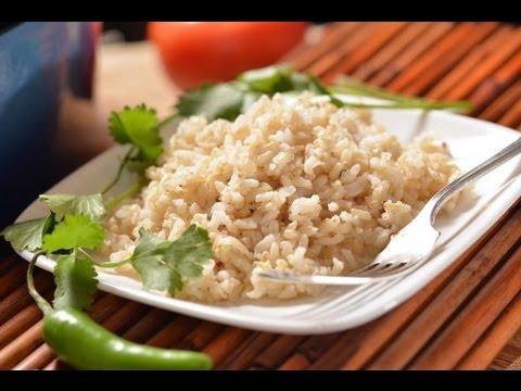 Arroz Integral Brown Rice Viyoutube