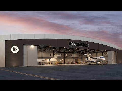 Nouveau centre de service Bombardier