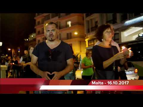 MALTA NEWS: DCG Memorial March Sliema, 16th Oct 2017