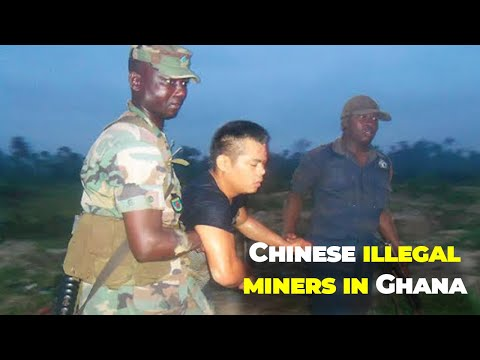 Ghana: How state Military protects Chinese illegal miners to deplete forest reserves