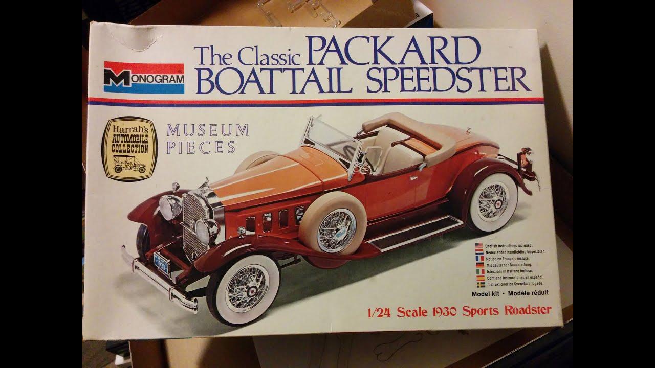 Building Packard Model Pt1, 1930 speedster