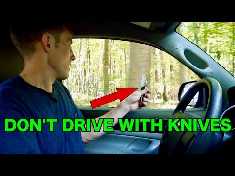 KNIFE SHARPENING ON A CAR WINDOW, DOES IT ACTUALLY WORK?