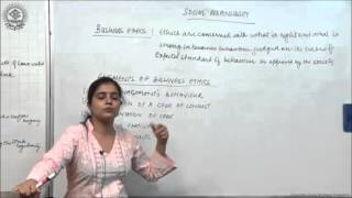 Business Ethics Cl XI Bussiness Studies by Ruby Singh