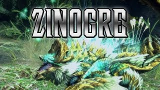 Monster Hunter - Meet the Zinogre