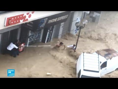 خمس وفيات ومفقود جراء الفيضانات في ولاية نابل شمال شرق تونس  - نشر قبل 3 ساعة