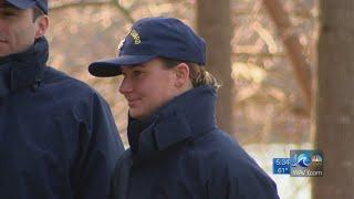 Woman makes Coast Guard history