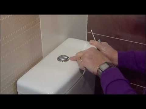 How To Fix Water Running Into A Pan From A Push Button Cistern