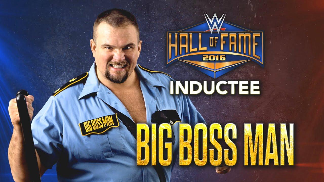 Der Big Boss Man wird in die WWE Hall of Fame 2016 aufgenommen