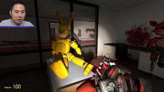 - TOY CHICA KILLED BY A SHOT Gmod FNAF Sandbox Funny Moments Garry s Mod