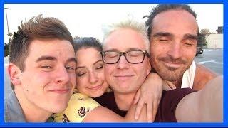One of extratyler's most viewed videos: My SK8R Boifriend & Cracking Finn's Bones [VidCon 2014 Day 3] | Tyler Oakley