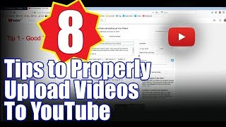 Easy setting to upload video to YouTube