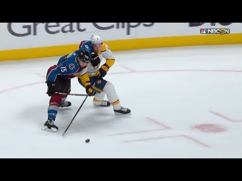 Filip Forsberg speeds in for dazzling goal