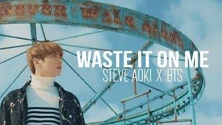 Steve Aoki - Waste It On Me ft. BTS (방탄소년단) FMV