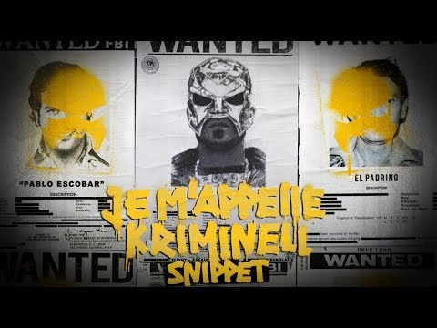 18 Karat - Je m'appelle kriminell (Snippet) [Video]