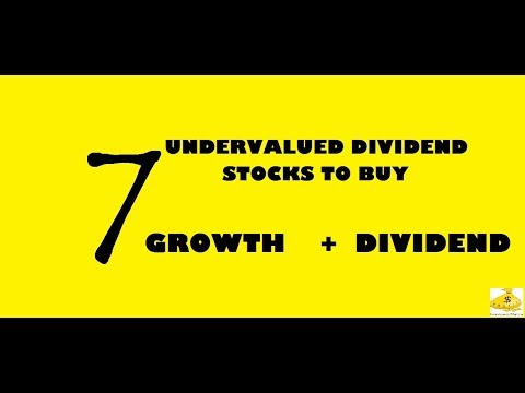 7 HIGH DIVIDEND PAYING UNDERVALUED STOCKS