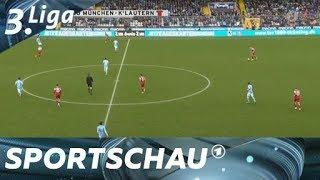 3. Liga: 1860 gewinnt in Überzahl gegen Kaiserslautern   Sportschau