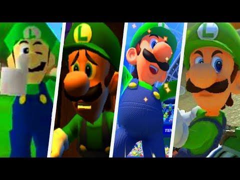 Evolution of Luigi's Voice in Super Mario Games (1996 - 2017)