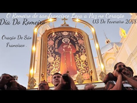 Oração de São Francisco Em Canindé ce Dia do Romeiro 2018