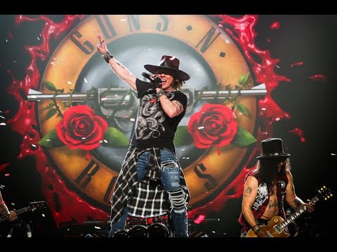 The ongoing story of Guns N' Roses