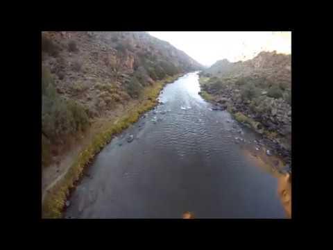 Cloud Hopper Flight in the Rio0 Grande River Gorge