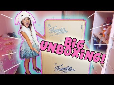 Cosa c'è dentro questi enormi scatoloni? 😍 Big Toys Unboxing! 🎀 (Nenuco PinyPon)🎀