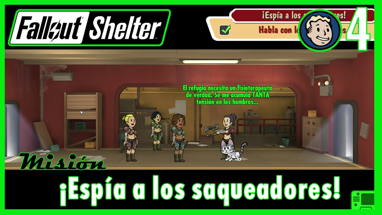 Fallout Shelter 5 Misión El Reto Del Concurso Gameplay Español Youtube