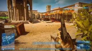 Battlefield 3 - Live Commentary - Gun Master - Talah Market (BF3 Online Multiplayer Gameplay)