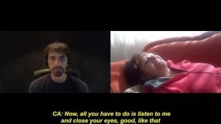 1143 _EN_ Daisy, Past life interference Spirit guide runs away, Regressive hypnosis Calogero Grifasi