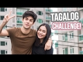 Tagalog Challenge w/ Vini Uehara! | ThatsBella