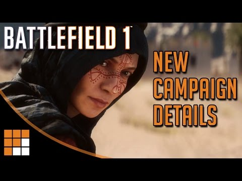 Battlefield 1: War Stories and New Campaign Details